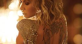 Anastacia tattoo I Can Feel You